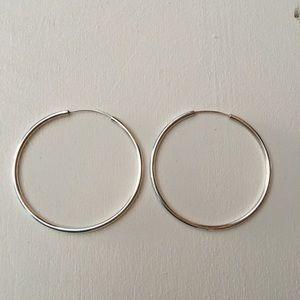 Jewelry - Sterling Silver Hoops